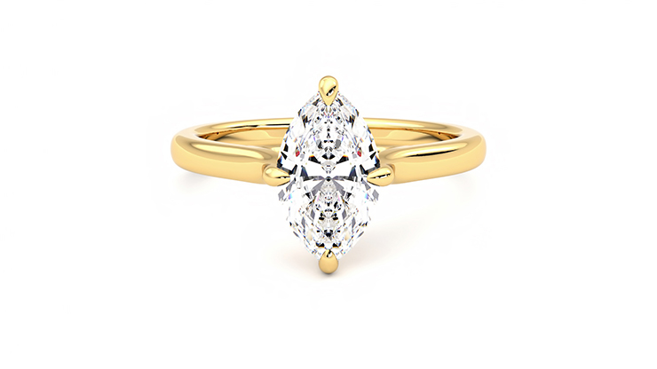 Taylor & Hart Joy Marquise Engagement Ring 360 detail 01